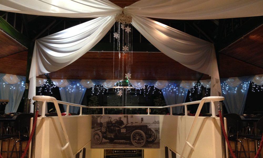 Christmas Ice Palace Beaulieu Motor Museum