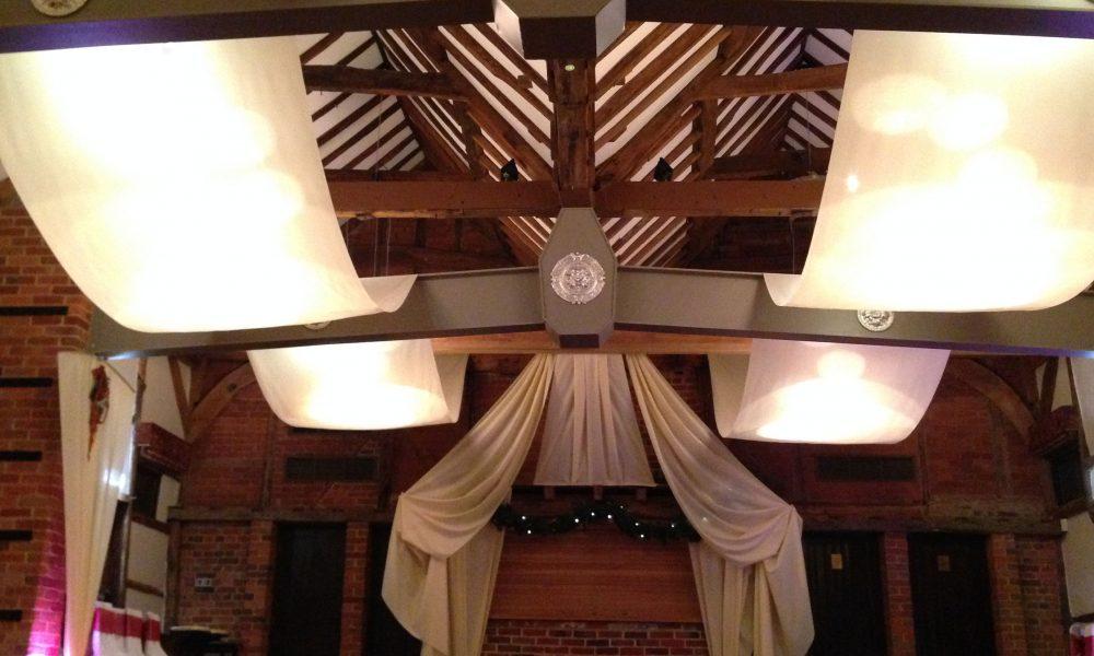 Venue Decorators at Lainston House