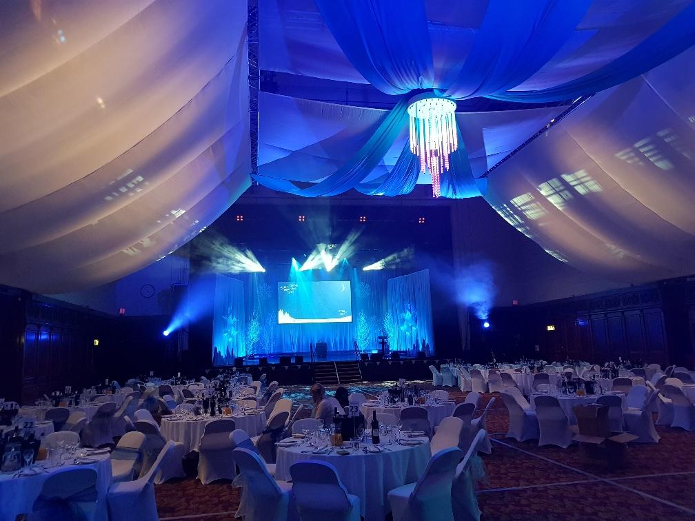 Old mutual winter wonderland transform venue for Art decoration international pvt ltd